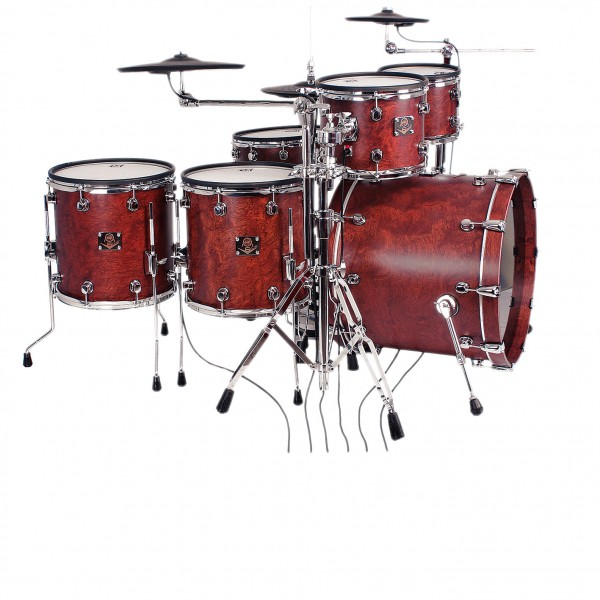 ddt V6 Custom ddt V6 CUSTOM EDITION limited Bubinga Pad Set