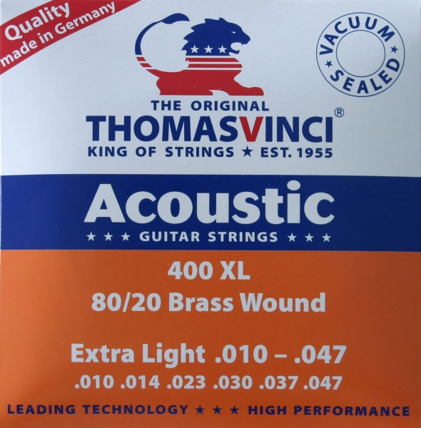 400 XL Extra Light Thomas Vinci Saiten