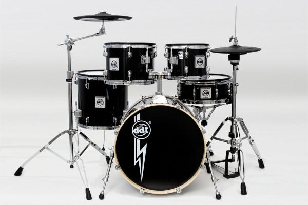 ddt E-Acoustic Drum PadSet Standard Serie schwarz Kessel Satz