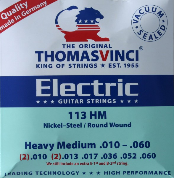 113 HM Heavy Medium Thomas Vinci Saiten
