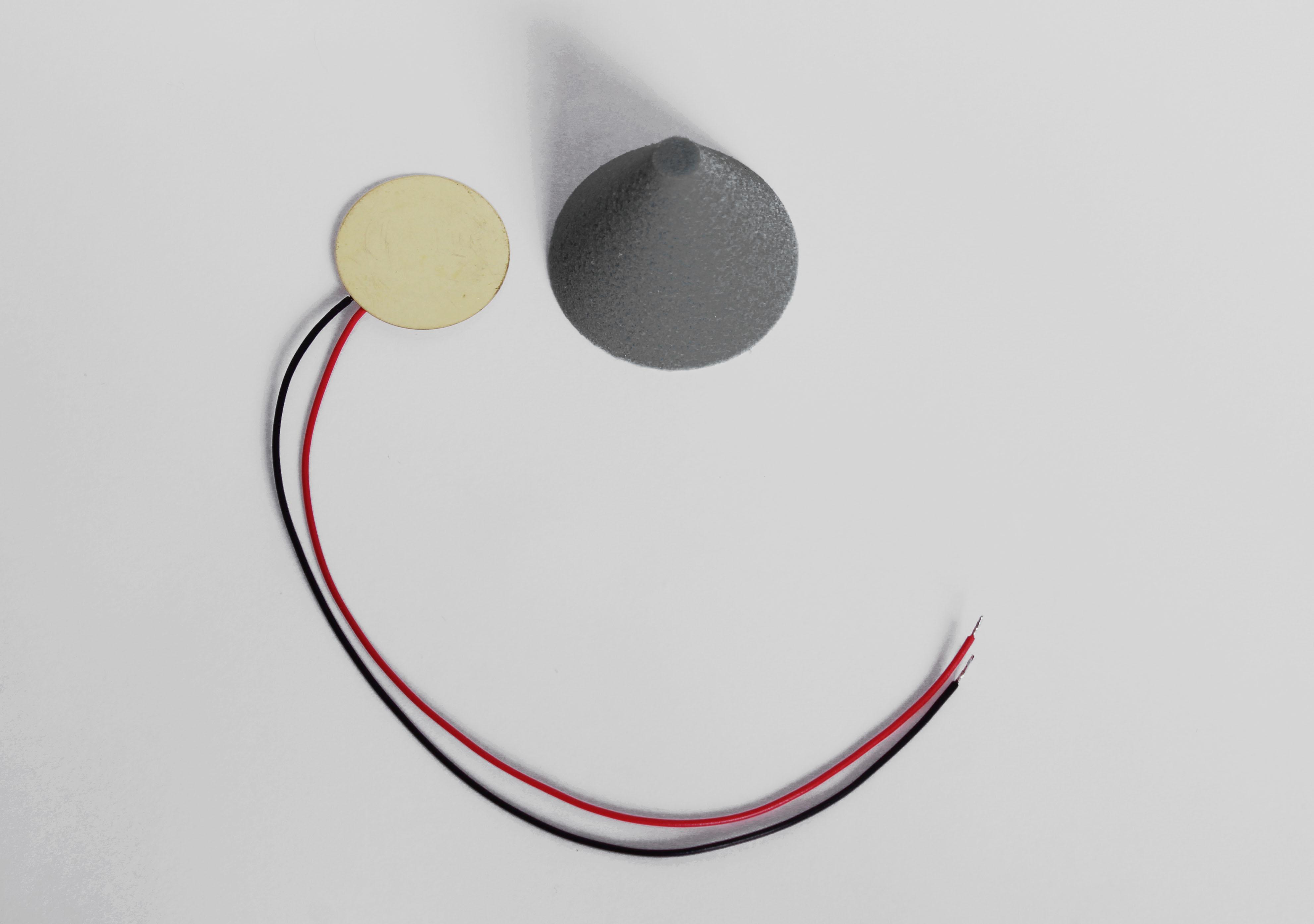 Piezo Sensor schwarz Cushion Konus cone Kegel ddt E-Drum Triggerkegel