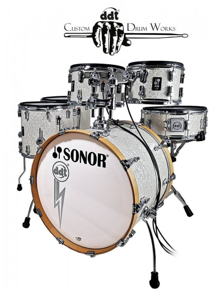 Sonor AQ2 - E-Acoustic ddt Custom Drum Works